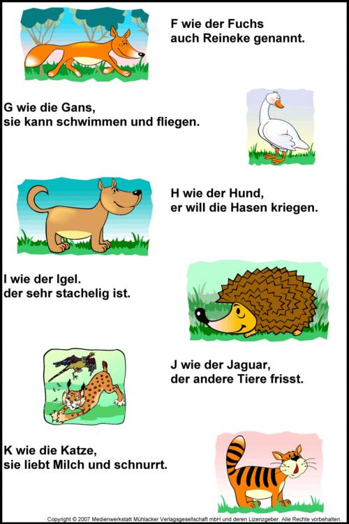 Deutsch in der grundschule