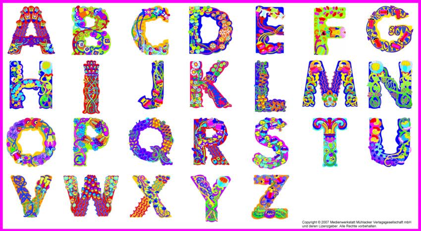 Bilder mit buchstaben