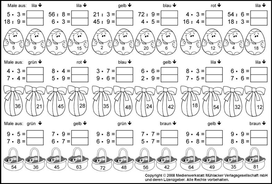 Matheaufgaben 1 klasse zum ausdrucken