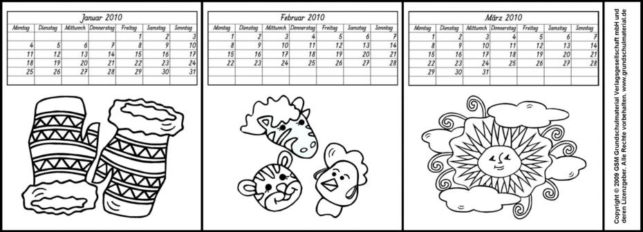 Leporello kalender my blog for Kalender zum selberbasteln