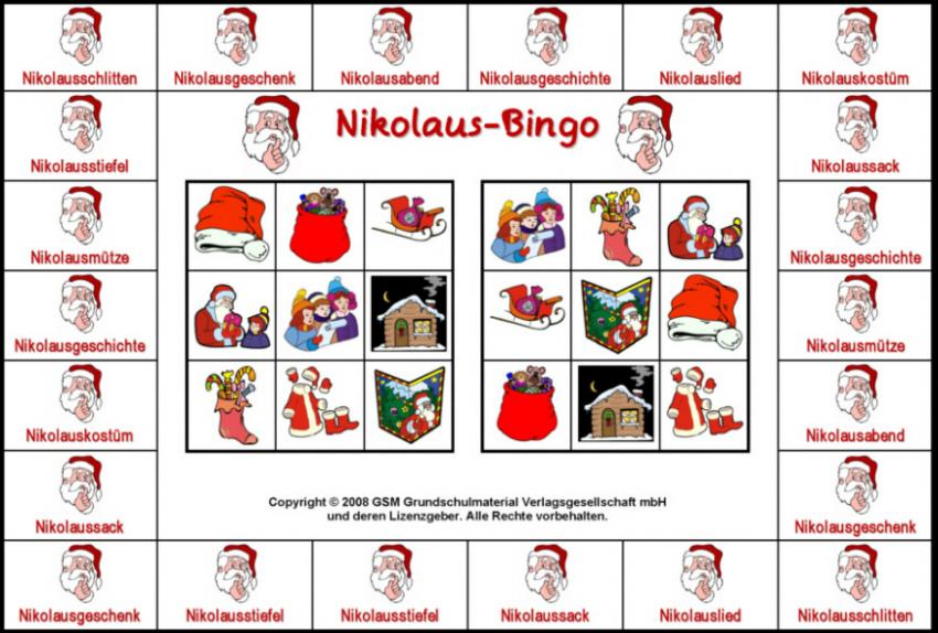 bingo spiele zum ausdrucken