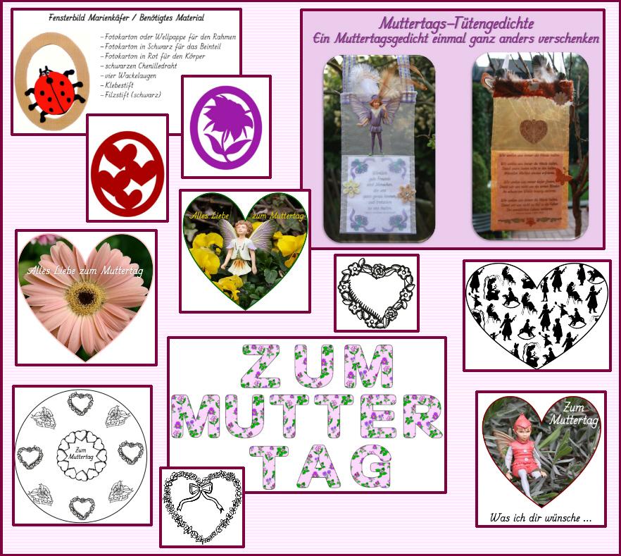 Gedichte zum muttertag bastelideen schmuckrahmen for Muttertagsgeschenk grundschule