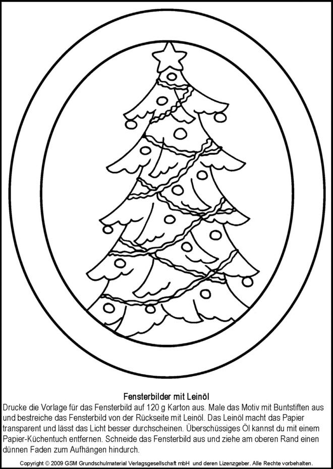 weihnachtliche fensterbilder weihnachtsbaum 1. Black Bedroom Furniture Sets. Home Design Ideas