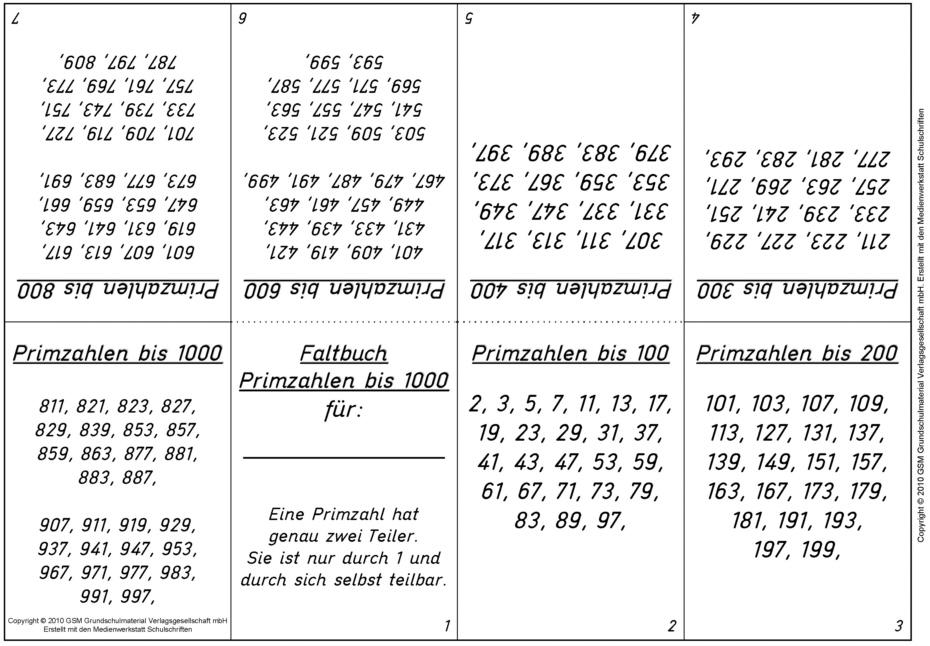 Primzahlen grundschule 4261789 - memorables.info
