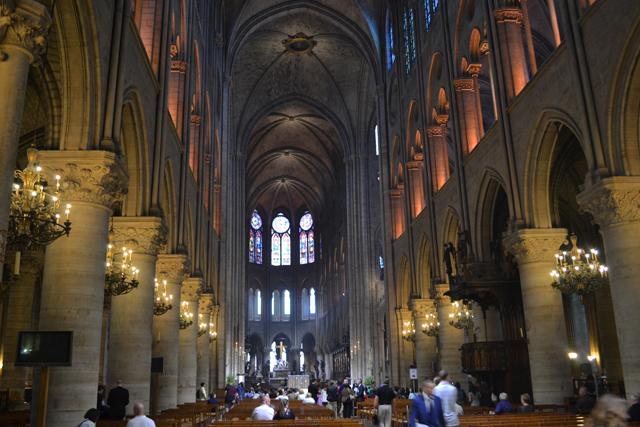 Notre Dame Bilder Innen