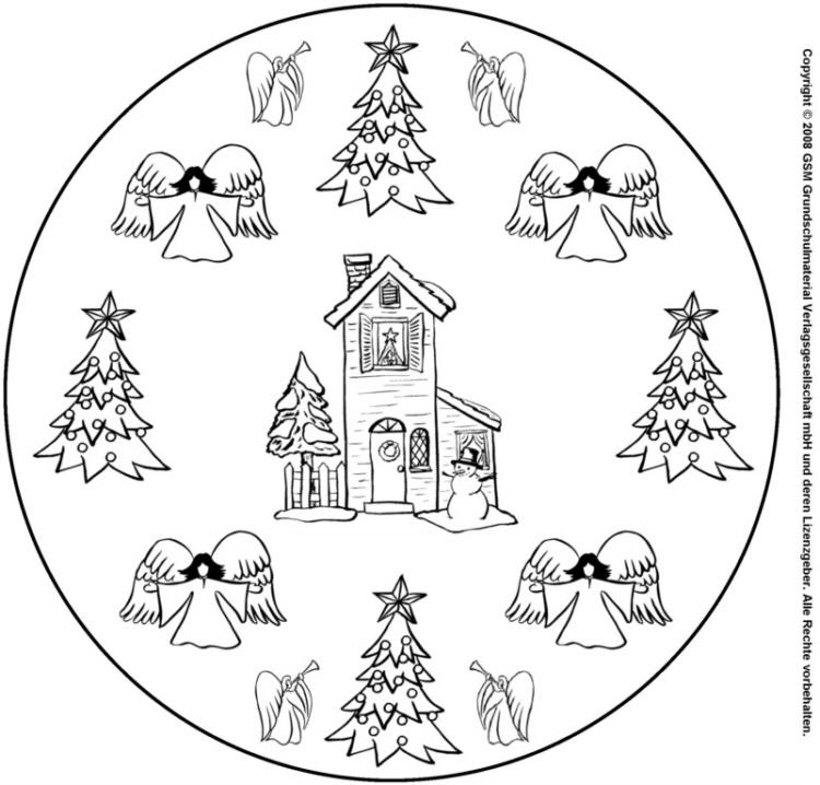 weihnachtsmandala 3  medienwerkstattwissen © 20062021