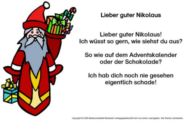Nikolaus Texte