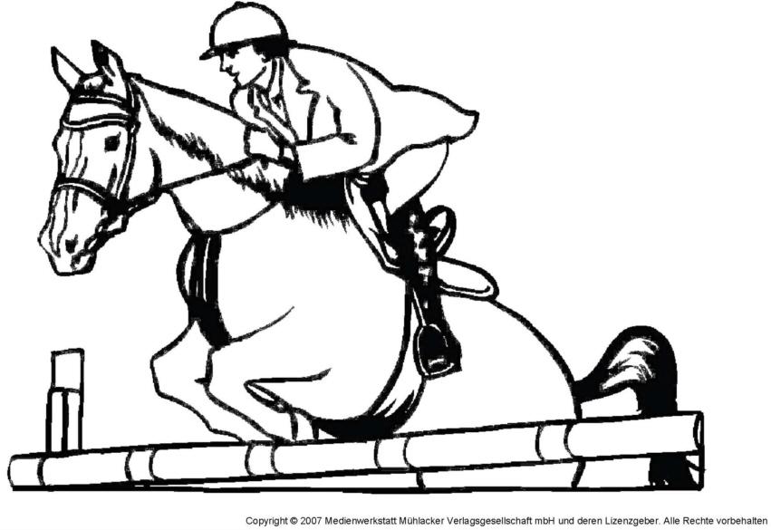 Atemberaubend Ponybild Zum Ausmalen Zeitgenössisch - Framing ...