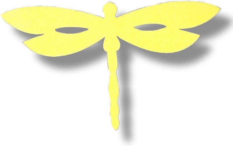 Schablone für eine Libelle - Medienwerkstatt-Wissen © 2006 ...