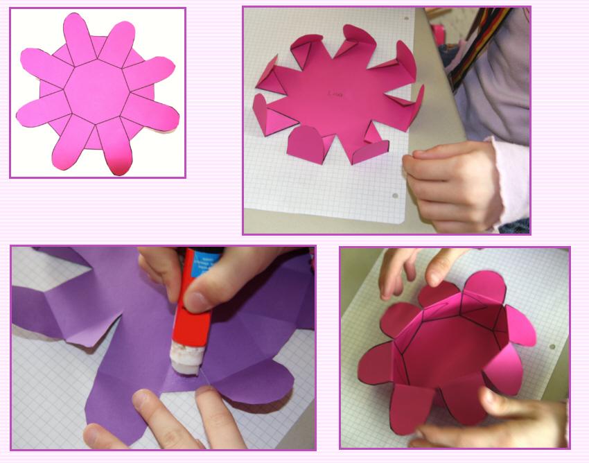 Berühmt Bastelanleitung: Eine Papierblume als Osterkörbchen XU95