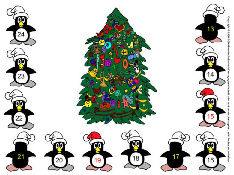 pinguin weihnachts w rfelspiel medienwerkstatt wissen. Black Bedroom Furniture Sets. Home Design Ideas