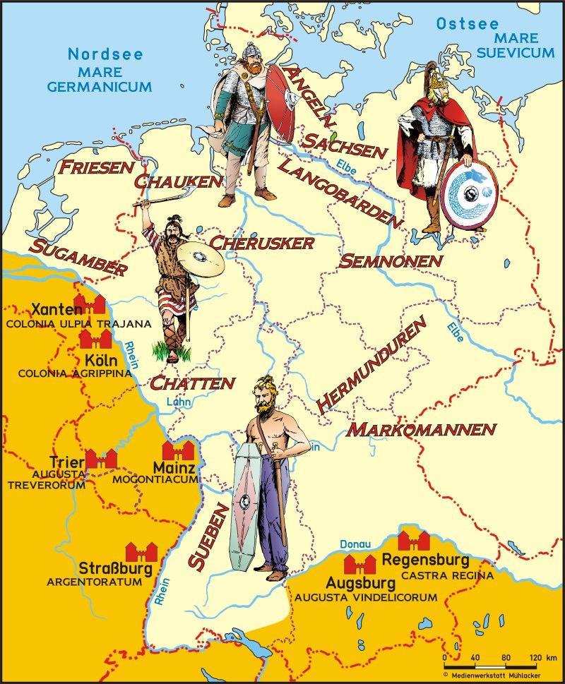 Germanische Stämme - Übersicht - Medienwerkstatt-Wissen © 2006-2015 ...: https://medienwerkstatt-online.de/lws_wissen/vorlagen/showcard.php...
