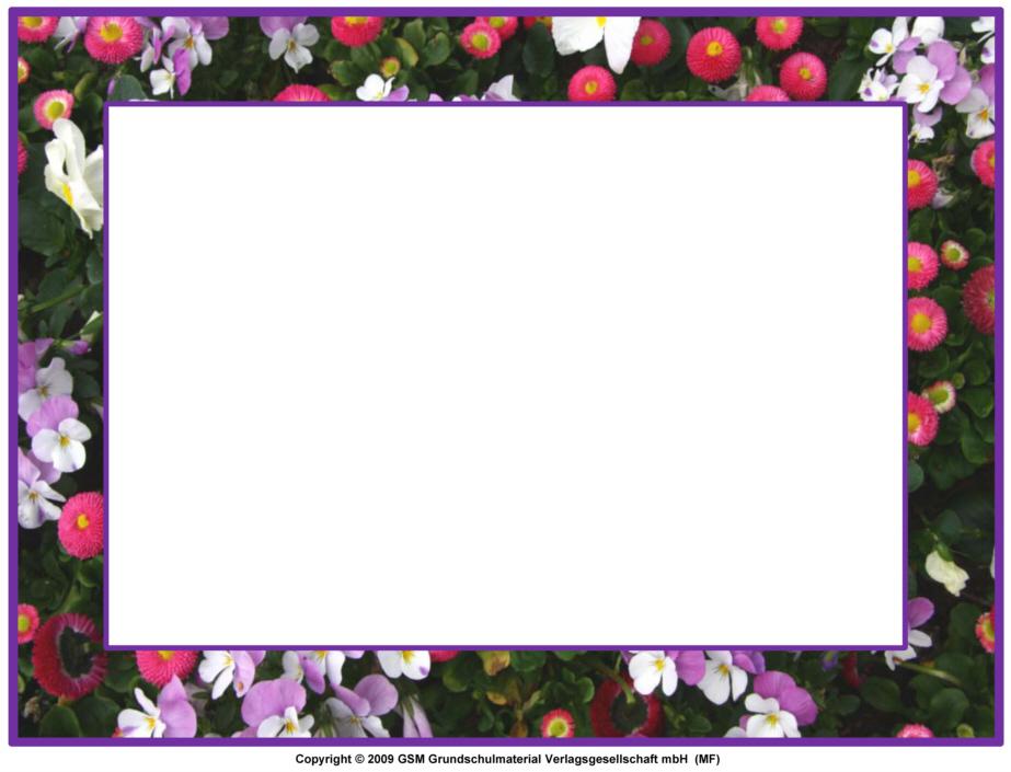 Foto-Blumenrahmen zum Ausdrucken 1 - Medienwerkstatt-Wissen © 2006 ...: https://medienwerkstatt-online.de/lws_wissen/vorlagen/showcard.php...
