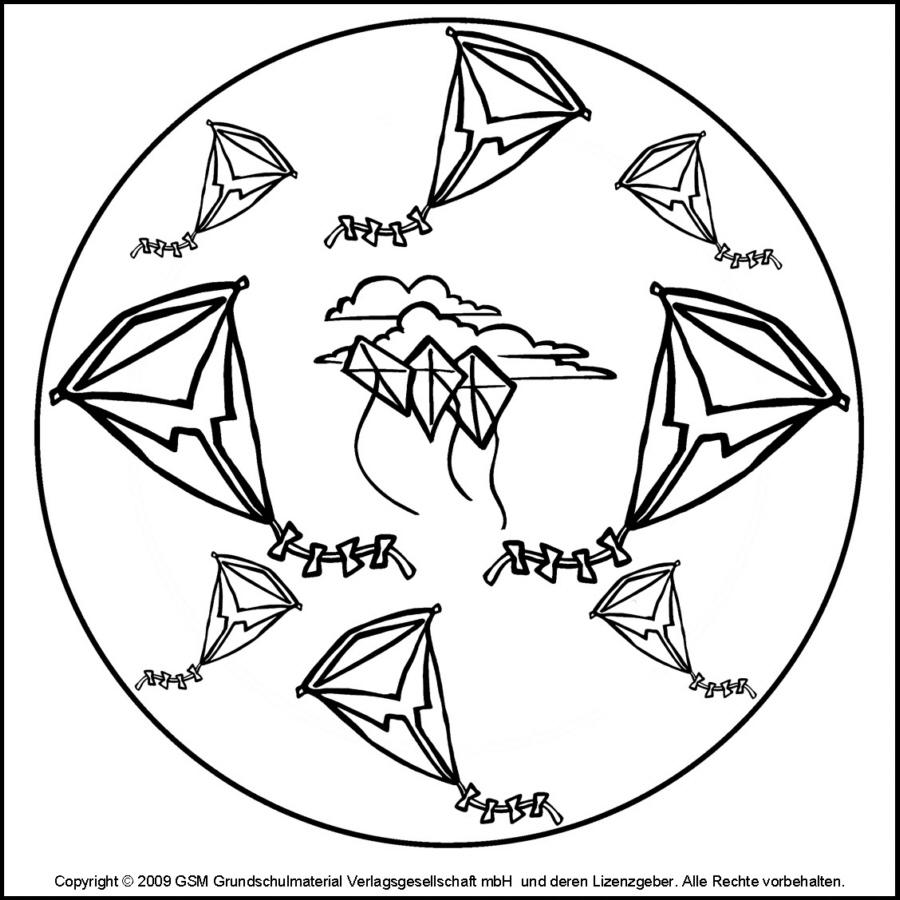 herbstmandala drachen  medienwerkstattwissen © 2006