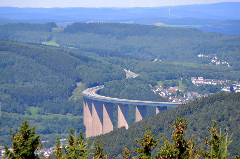 Höchste Autobahnbrücke