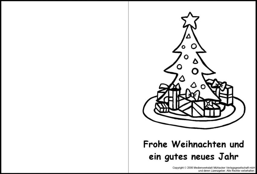 Weihnachtskarte zum ausmalen 4 medienwerkstatt wissen 2006 2017 medienwerkstatt - Vorlage weihnachtskarte ...