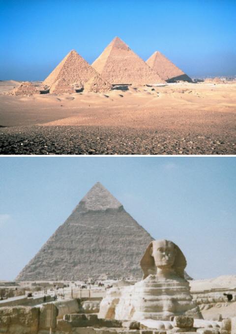 Pyramiden Höhe