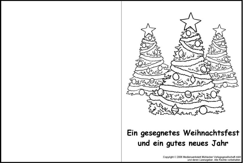 Weihnachtskarte zum ausmalen 6 medienwerkstatt wissen 2006 2017 medienwerkstatt - Weihnachtskarten basteln vorlagen kostenlos ...