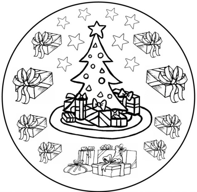weihnachts mandala 7 medienwerkstatt wissen 2006 2017. Black Bedroom Furniture Sets. Home Design Ideas